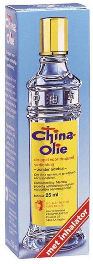 China Olie Gr.Navul.Inhltor Body Oil - 25 ml