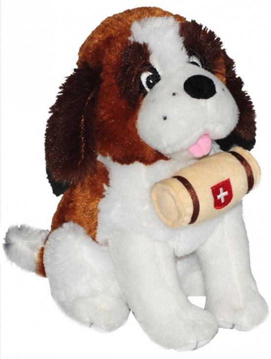 25aee54de34781 bol.com | Pluche Sint Bernard knuffel 25 cm, Merkloos | Speelgoed