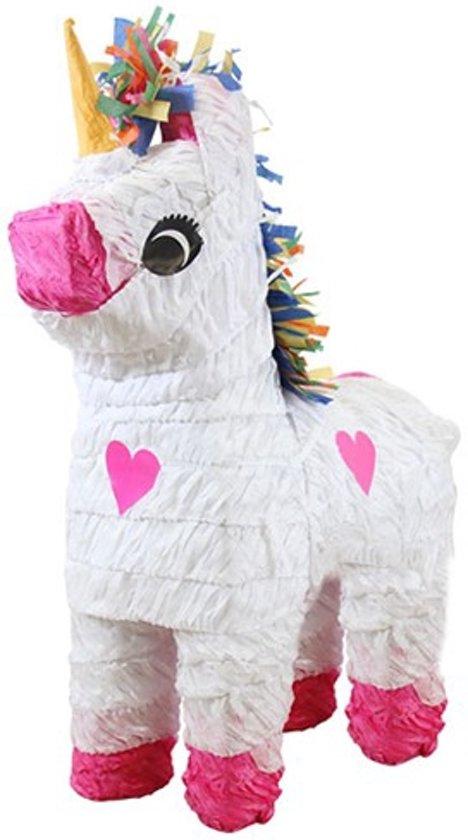 Amscan Piñata - Eenhoorn wit Valentinaa