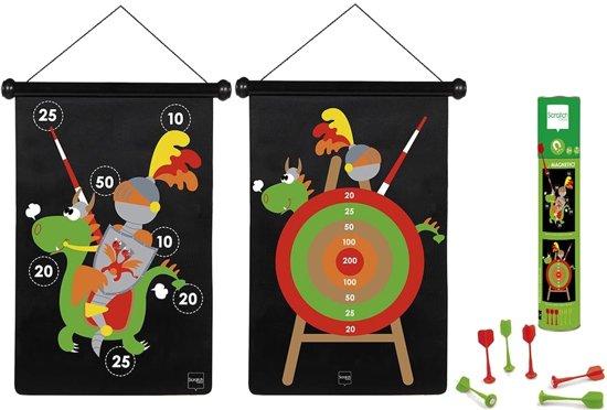 Afbeelding van het spel TWEEZIJDIG MAGNETISCH DARTSPEL RIDDERS