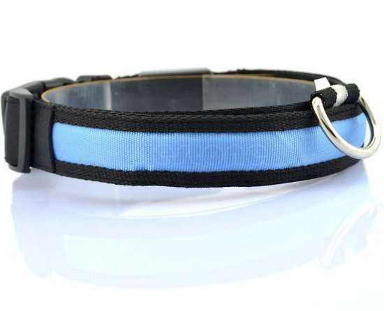 Hondenhalsband Met Licht : Bol led hondenhalsband lichtgevend met optie knipperend