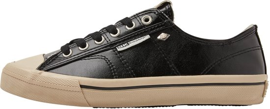 British Sneaker Knights Dames Chase Black Laag 37 Polyester rfpTfv8xqw