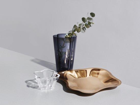 Iittala Alvar Aalto Schaal RVS 35,8 cm