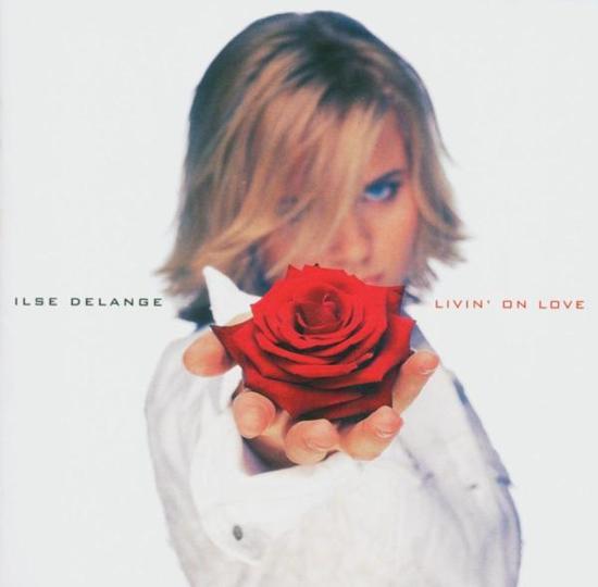 CD cover van Livin On Love van Ilse DeLange