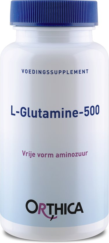 Orthica - L Glutamine 500 - 60 Capsules - Voedingssuplement