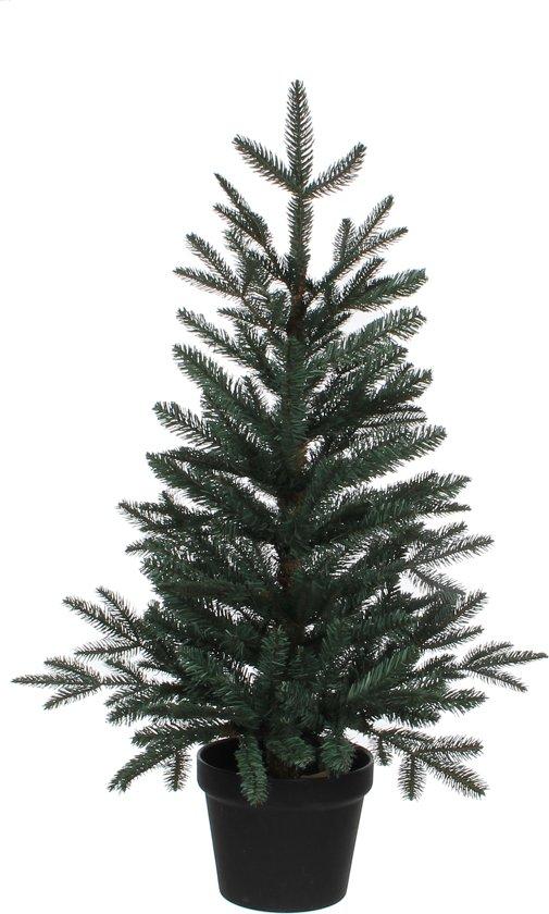 bol.com | Black box kunstkerstboom frasier fir maat in cm: 90 x 65 blauw