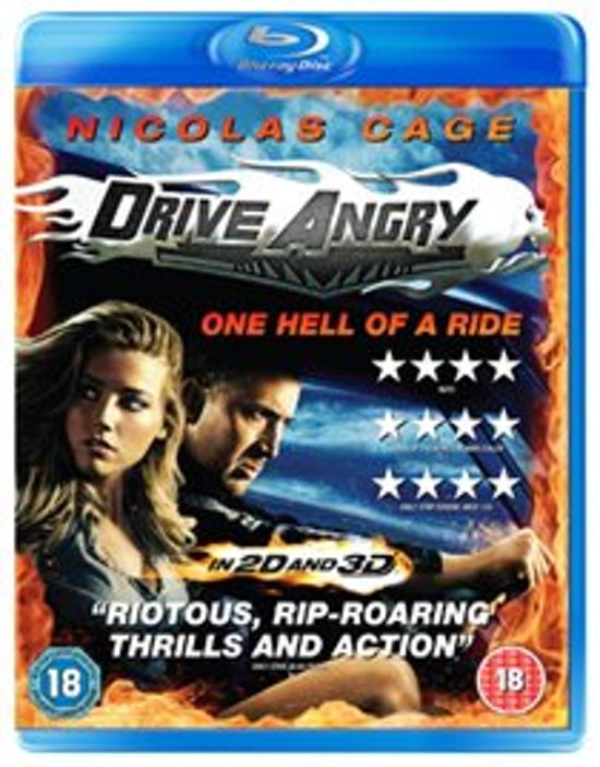 Cover van de film 'Drive Angry'