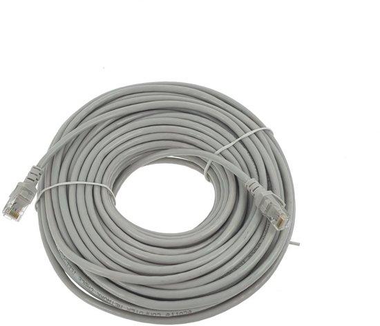 Voorkeur bol.com   25 meter Internet Kabel / Netwerkkabel / LAN Kabel / UTP KB27