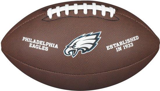Wilson WTF1748XB NFL Licensed Ball Eagles American Football