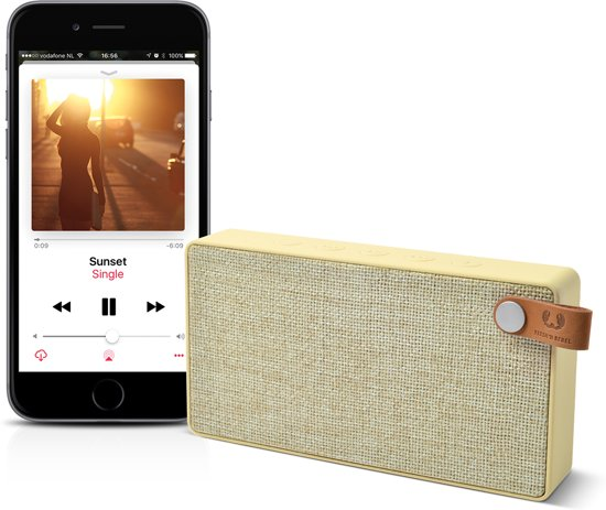Fresh 'n Rebel Rockbox Slice Bluetooth Speaker Fabriq Edition
