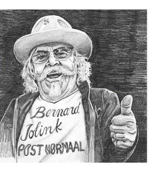 CD cover van Post Normaal (CD + Boek) van Bernard Jolink