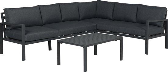 Luxe Loungeset Zwart.Garden Impressions Lexinton Loungeset Verstelbaar Aluminium Zwart