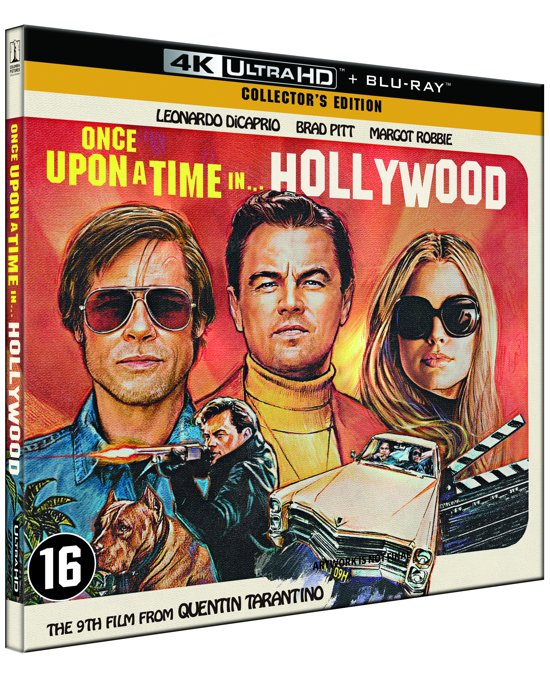 DVD cover van Once Upon A Time In Hollywood ( (4K Ultra HD Blu-ray) (Collectors Edition)