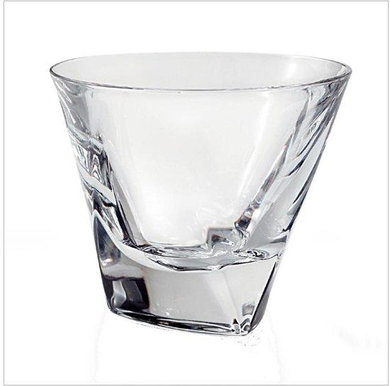 Kristallen Whiskey Glazen.Triangle Whisky Glazen Whiskey Kristal 6 Pcs