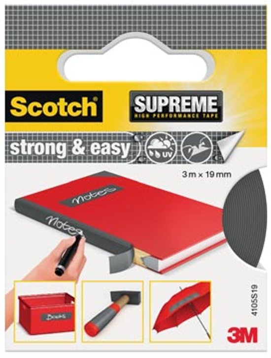 SCOTCH REPARATIETAPE 19X3 GRS