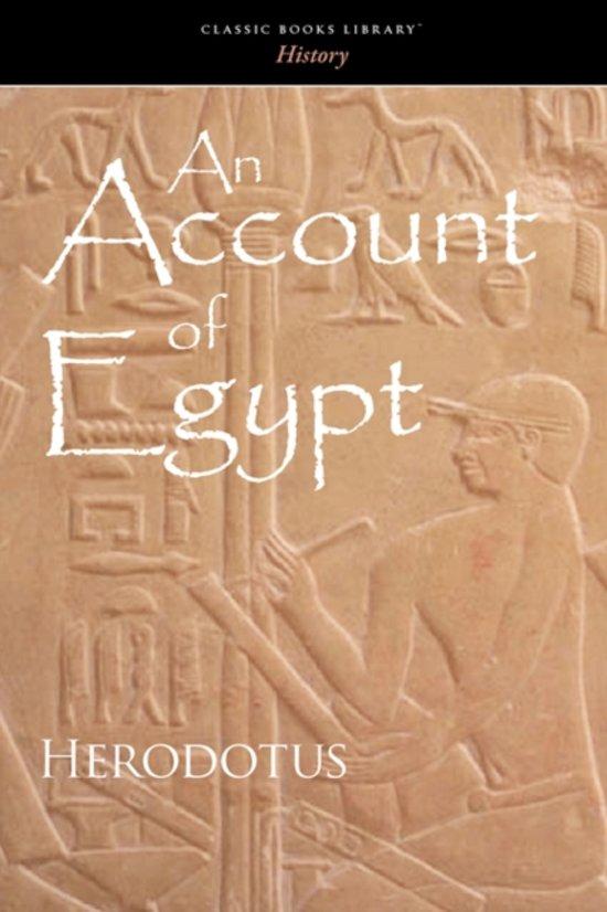 Account of Egypt
