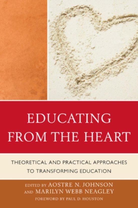 Boek cover Educating from the Heart van Sara C. Caldwell (Paperback)