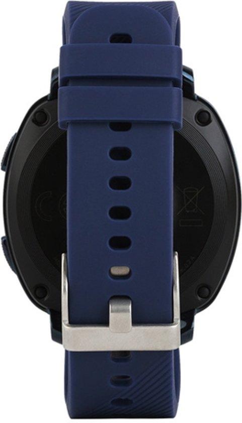 Siliconen Horloge Band Voor Garmin Vivoactive 3 - Armband / Polsband / Strap Bandje / Sportband - Donker Blauw