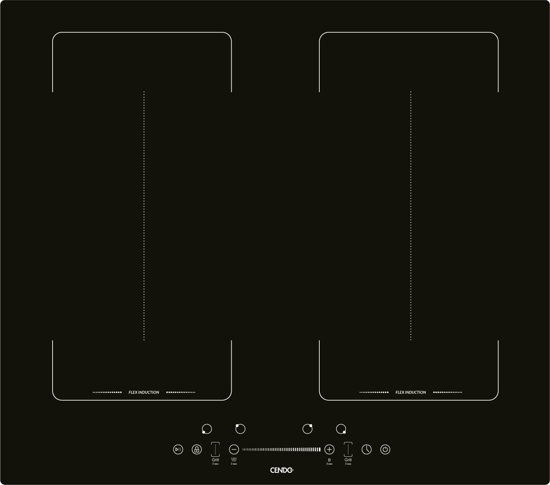 CENDO KR91FITS - Flex Inductie Kookplaat 60 cm