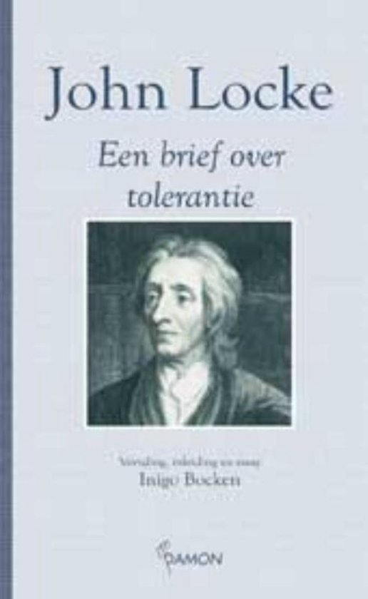 Marginaliareeks - Brief over tolerantie