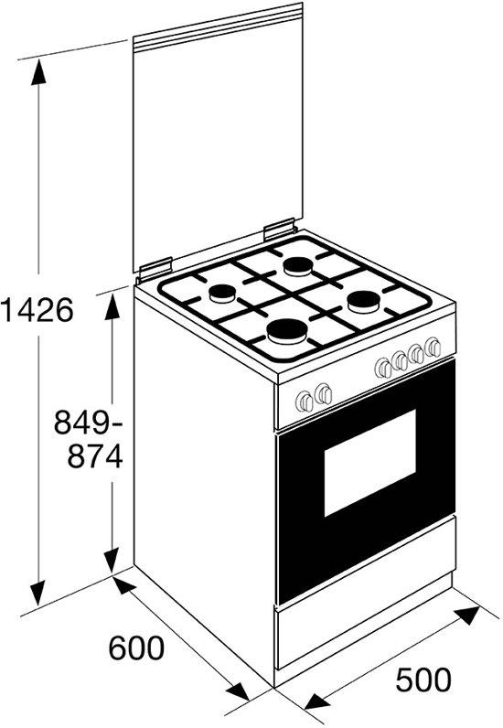 ETNA FGV350RVS