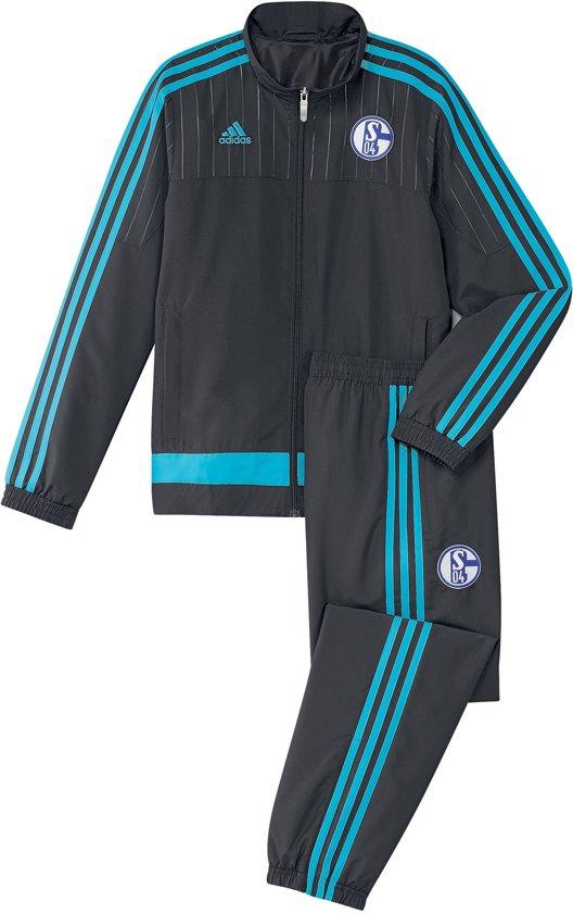 Fonkelnieuw bol.com | adidas FC Schalke 04 Trainingspak 2015/16 AB2042 ZS-02