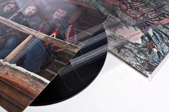 12 inch buitenhoes voor Album / LP (ook wel Blake sleeves) 32x31.5 + 3.6 cm [BLP1]
