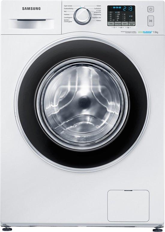 Samsung WF70F5ECQ4W - Eco Bubble - Wasmachine
