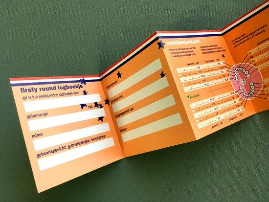 Houten Tandendoosje tevens Fotolijstje - Bamboe - Wit, Jongen, Meisje - Firsty® Square - Handgebouwd in NL - Inclusief Logboekje NL en gratis Verzending elke DI en VR (besteld vóór 13.30)