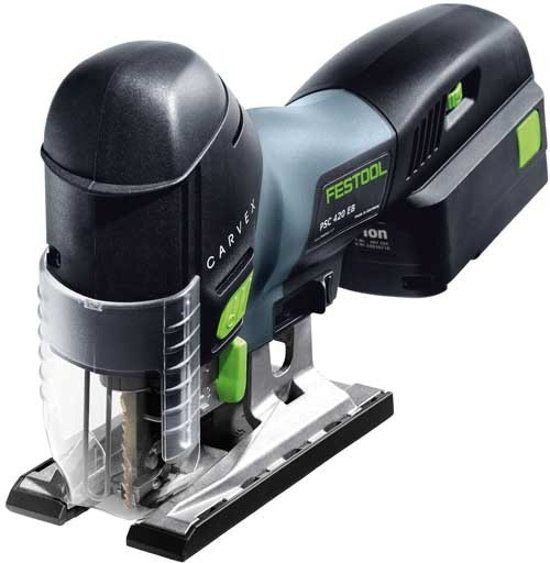Festool Accu-Zaagmachine PSC 420 EB Li 18-Plus