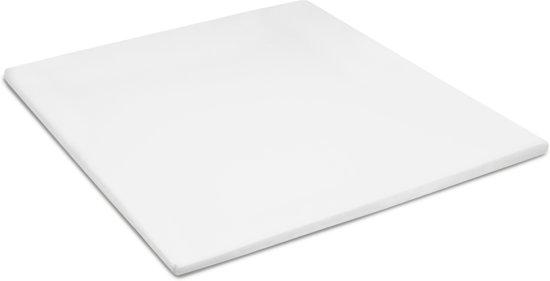 Cinderella - Hoeslaken voor Topper (tot 15 cm) - 160x200 cm - White