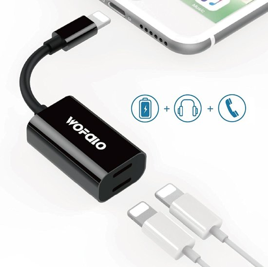 check out a27e0 25701 Lightning splitter audio + charge voor iPhone 7/7+/8 en iPad en iPod.
