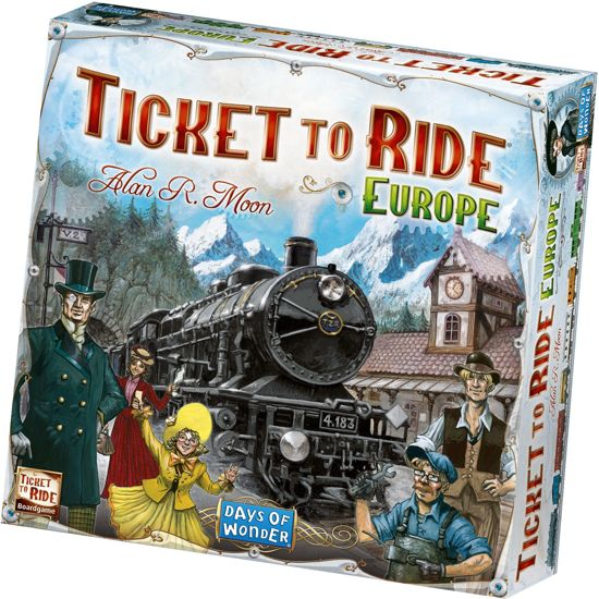 Ticket To Ride Europe Engelstalig - Bordspel