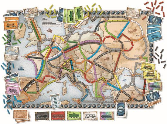 Ticket To Ride Europe Engelstalig - Bordspel