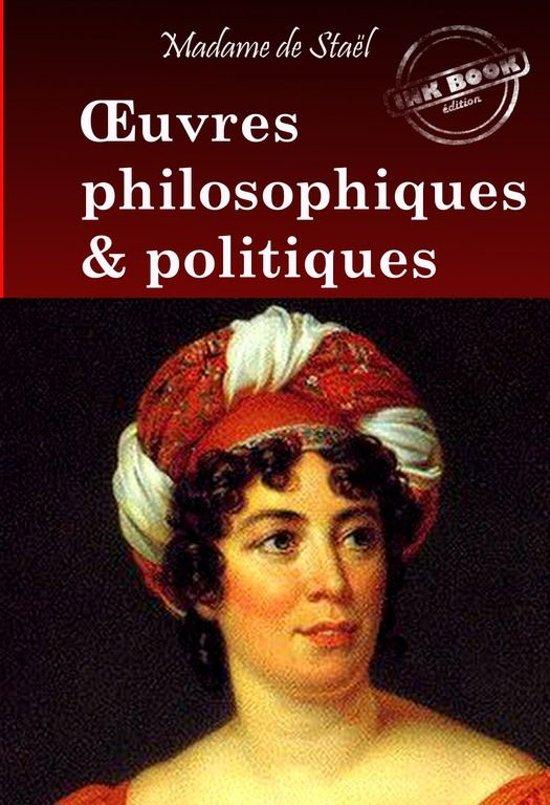 OEuvres philosophiques et politiques de Madame de Staël