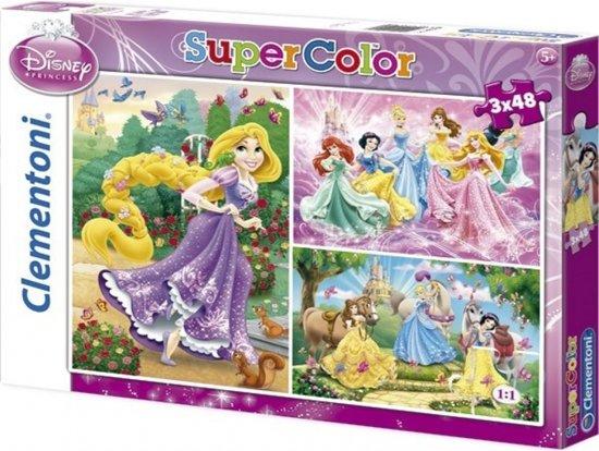 Afbeelding van het spel Disney Princess ariel puzzel 3 x 48 stukjes