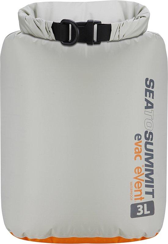 a449fa1c40e Sea to Summit eVac eVent® Dry Sack Waterdichte zak - 3L - Grijs/oranje