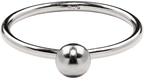Violet Hamden 925 Sterling Zilveren Dots Ring  (Maat 52) - Zilver