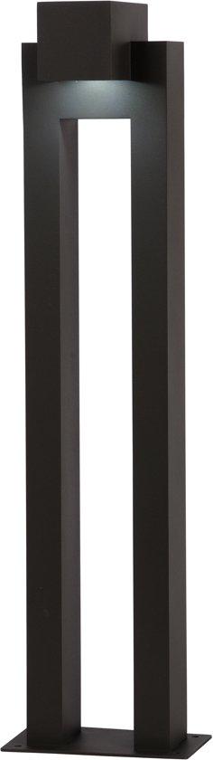 Lucide KWINTO - Sokkellamp Buiten - LED - 1x6W 3000K - IP54 - Zwart