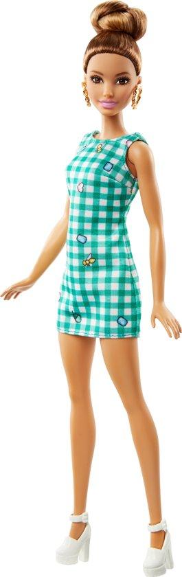 Barbie Fashionistas Emerald Check - Barbiepop