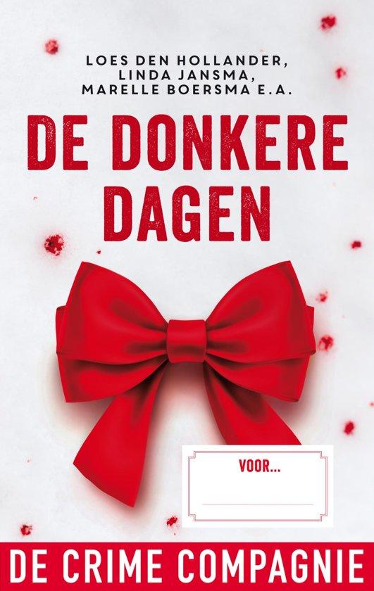Boek cover De donkere dagen van Loes den Hollander (Onbekend)