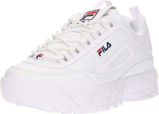 Maat Low Wit Dames Fila Sneakers Disruptor 40 Wmn p8nzwA