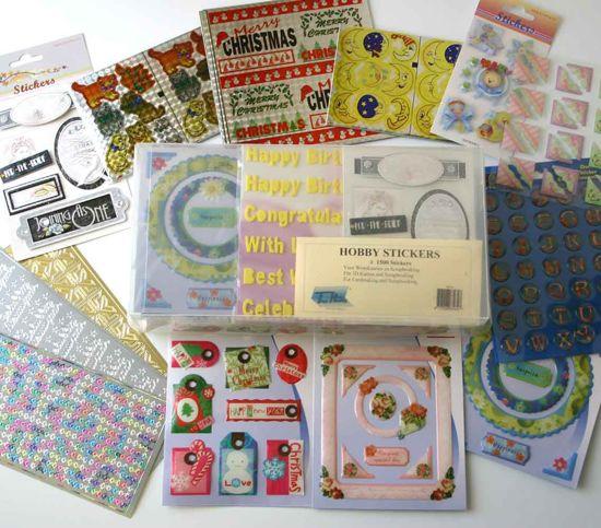 Stickers in Bewaarbox - ca. 1500 Stuks