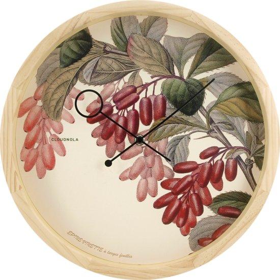Cloudnola Botanical Wandklok
