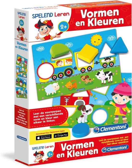 9b643356c39 bol.com | Clementoni - Spelend leren - Vormen & kleuren, Clementoni ...