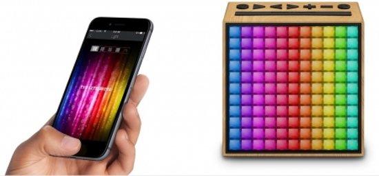 Divoom TimeBox Smart Bluetooth Speaker met Alarm 11,6 x 11,4 cm