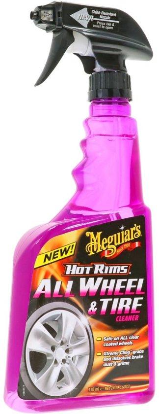 Meguiars G9524 Hot Rims All Wheel Cleaner Spray 710ml - Velgenreiniger