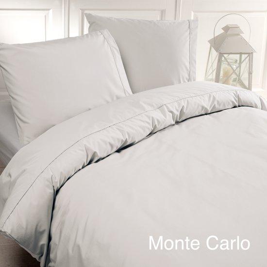 Papillon Monte Carlo - dekbedovertrek - eenpersoons - 140 x 200/220 cm - Wit