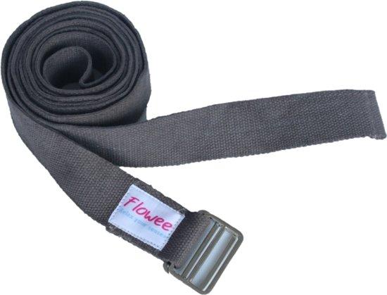 Flowee yogariem – Grijs (244 cm x 3,6 cm)