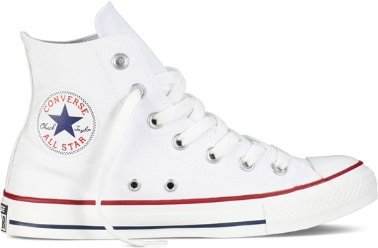 2fc1bef6ac4 Converse Chuck Taylor All Star Sneakers Hoog Unisex - Optical White - Maat  36